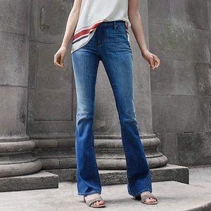 LOFT Stretch Medium Wash Modern Flare Jean